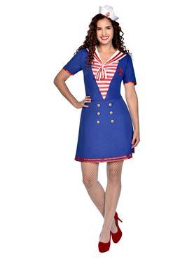Adult Sailor Lady Costume