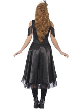 Adult Saloon Girl Costume - Side View