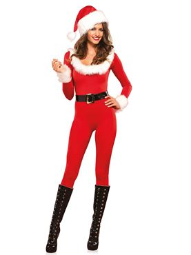 Adult Santa Baby Catsuit Costume