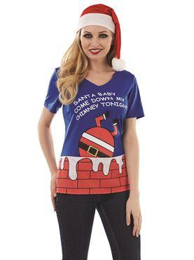 Adult Santa Baby T-Shirt
