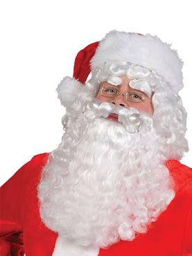 Adult Santa Claus Wig and Beard Set