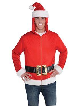 Adult Santa Hoodie
