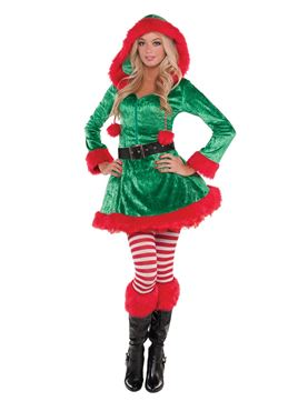 Adult Sassy Sexy Elf Costume