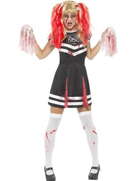 Adult Satanic Cheerleader Costume