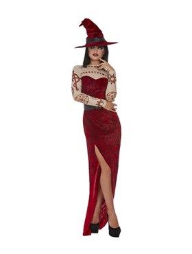 Adult Satanic Witch Costume