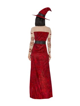 Adult Satanic Witch Costume - Side View
