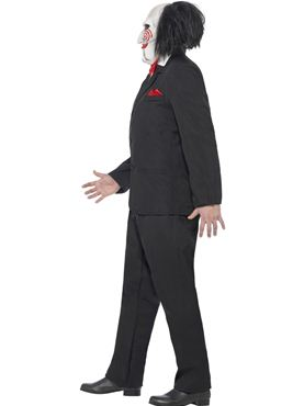 Adult Saw Jigsaw Costume - Back View