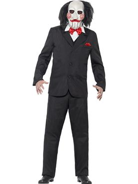 Adult Saw Jigsaw Costume Couples Costume