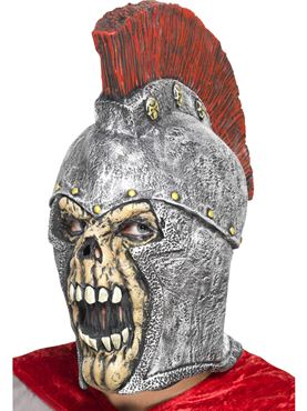 Adult Roman Soldier Skeleton Mask