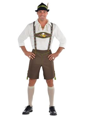 Adult Mr Oktoberfest Costume Couples Costume