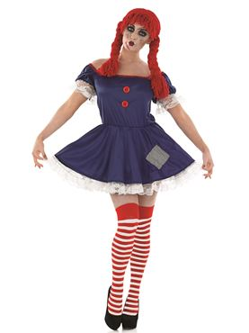 Adult Scary Rag Doll Costume