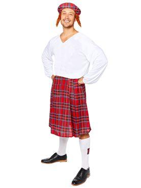 Adult Scot Kit Costume