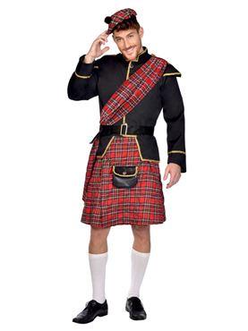 Adult Scottish Man Costume Couples Costume