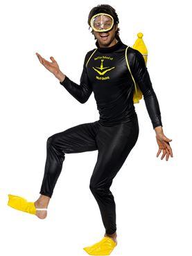 Adult Scuba Muff Diver Costume
