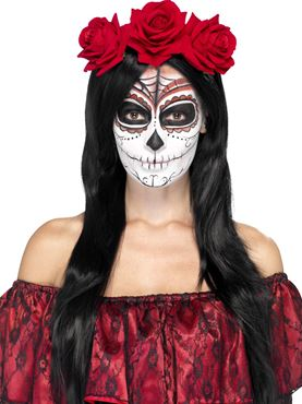 Adult Ladies Day Of The Dead Suit 45951 Fancy Dress Ball