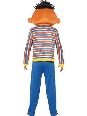 Adult Sesame Street Ernie Costume - Side View