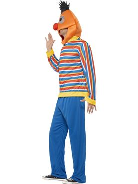 Adult Sesame Street Ernie Costume - Back View