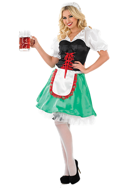 Adult Sexy Bavarian Oktoberfest Costume Couples Costume