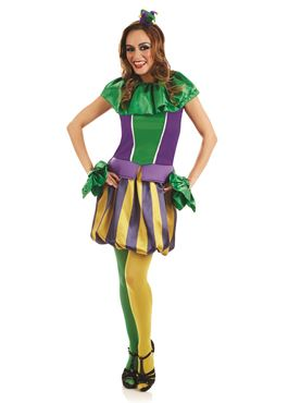 Adult Sexy Carnival Jester Costume