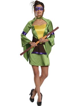 Adult Sexy Donatello Ninja Turtle Costume Thumbnail
