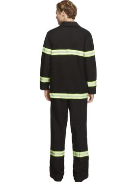 Adult Sexy Fireman Costume - Side View