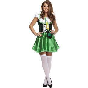 Adult Sexy Ireland Beer Girl Costume