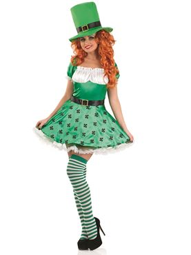 Adult Sexy Leprechaun Costume Thumbnail