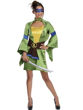 Adult Sexy Leonardo Ninja Turtle Costume