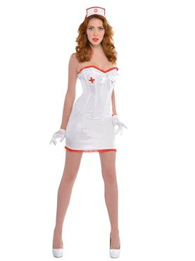 Adult Sexy Nurse Costume Thumbnail