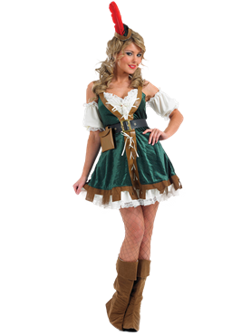 Adult Sexy Robin Hood Costume Couples Costume