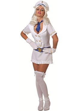 Adult Sexy Sailor Lady Costume