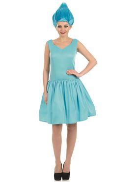 Adult Sexy Turquoise Pixie Costume