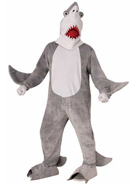 Adult Shark Chomper Mascot Costume