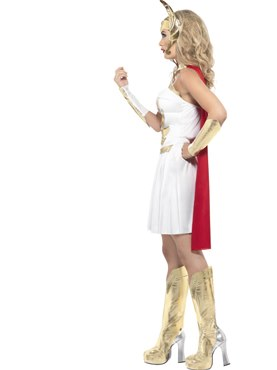 Adult She-Ra Dress Costume - Back View