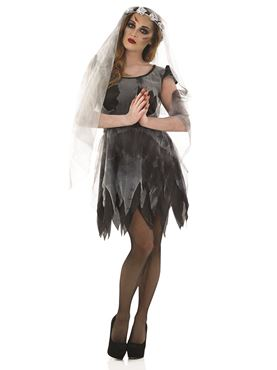 Adult Short Corpse Bride Costume Thumbnail