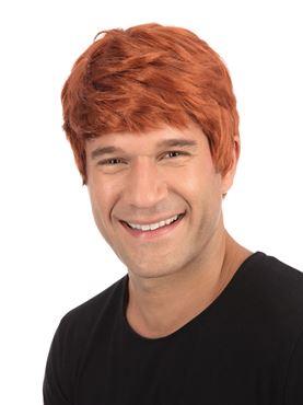 Adult Short Ginger Wig