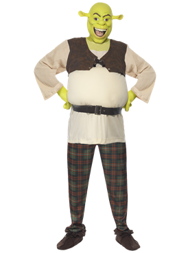 Adult Shrek Costume Thumbnail