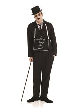 Adult Silent Film Star Costume Couples Costume