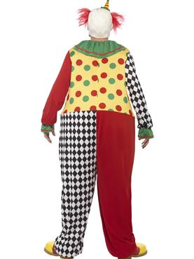 Adult Sinister Clown Costume - Side View