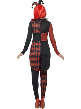Adult Sinister Jester Costume - Side View