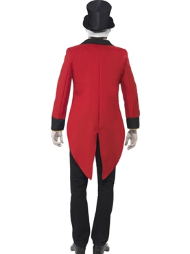 Adult Sinister Ringmaster Costume - Side View