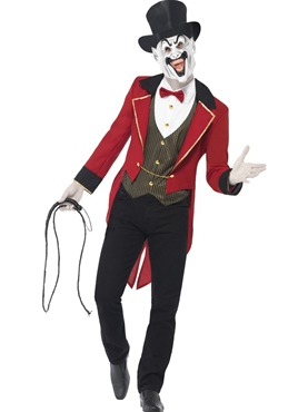 Adult Sinister Ringmaster Costume Couples Costume