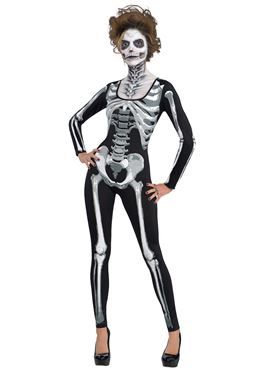 Adult Skeleton Catsuit