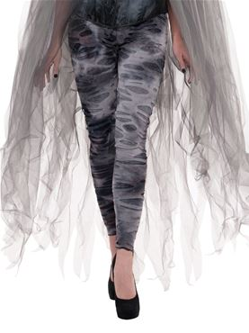 Adult Zombie Ghost Tights