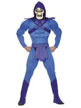 Adult Skeletor from He-Man Costume
