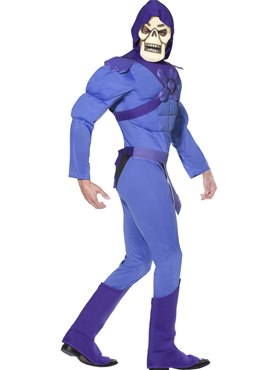 Adult Skeletor from He-Man Costume - Back View