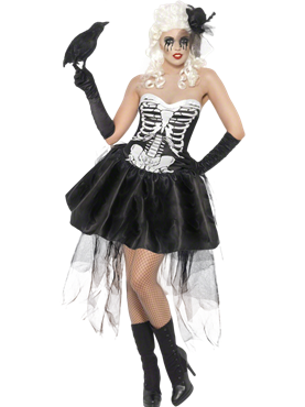 Adult Skelly Von Trap Costume Couples Costume
