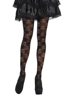 Adult Skull & Crossbone Tights