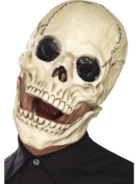 Adult Skull Mask - Back View