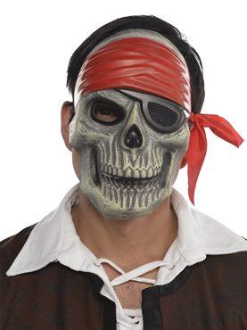Adult Skull Pirate Mask